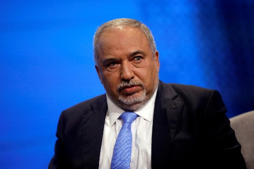 Israel's Lieberman calls for unity government
