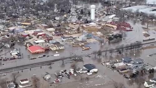 Historic Flooding Wreaks Havoc in Nebraska: Pictures