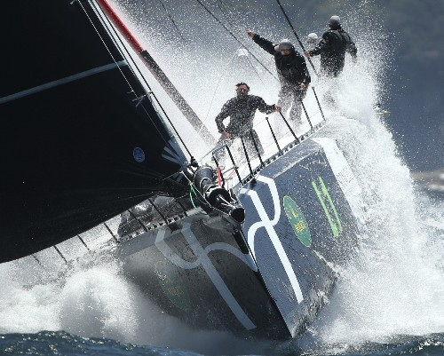 Dramatic Pictures from Sydney to Hobart Yacht Race
