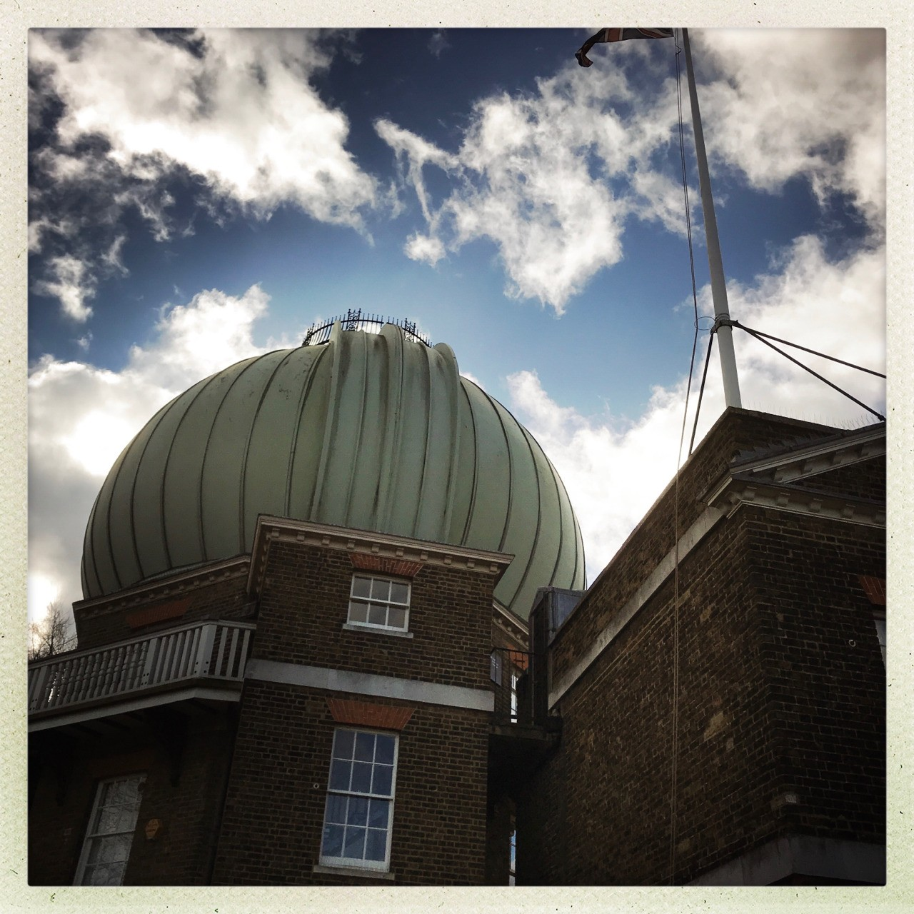 Greenwich observatory using Hipstamatic app