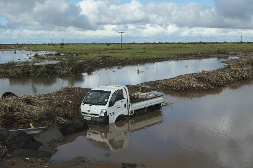 Floods, destruction from cyclone continue in Mozambique