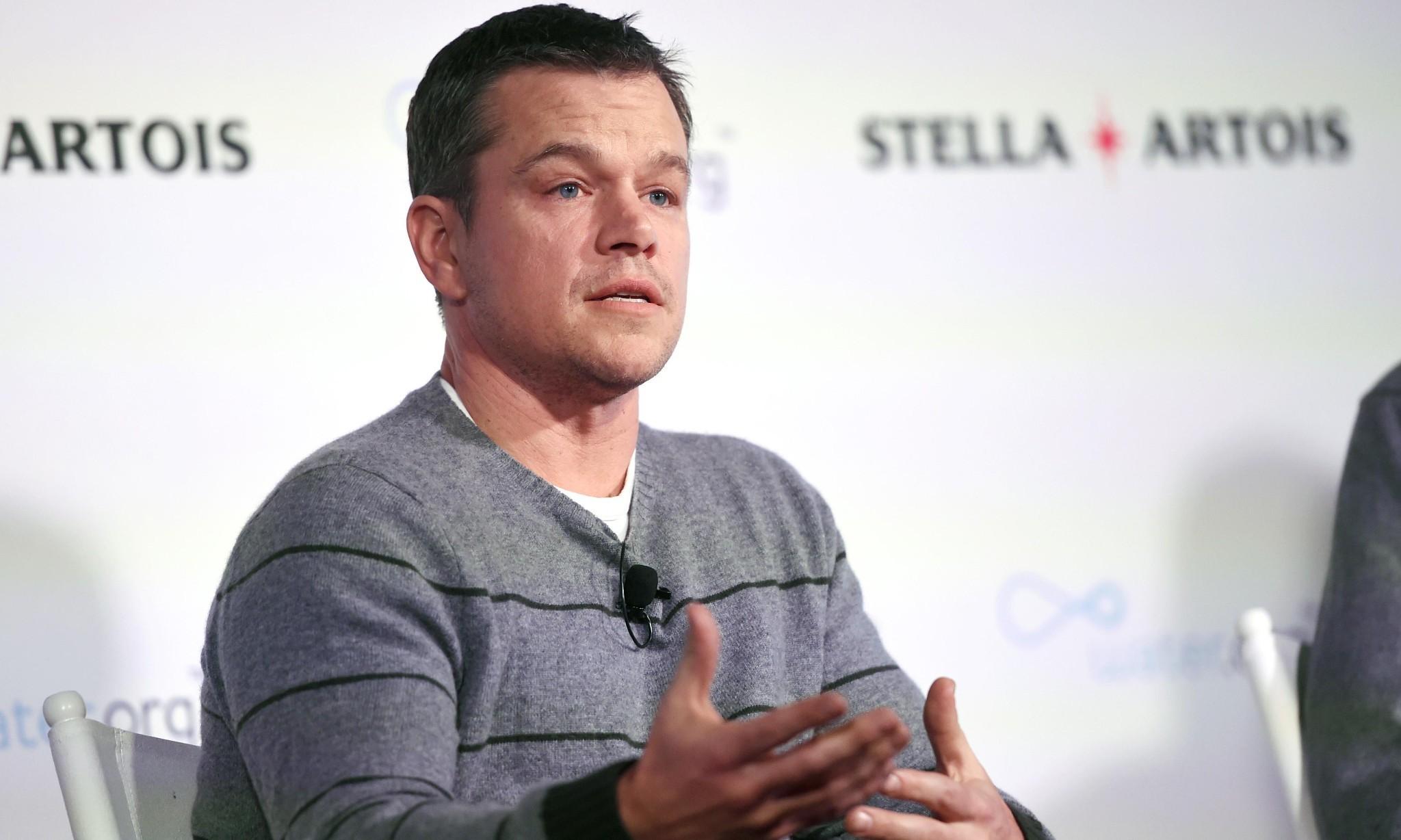 Matt Damon: fixing Oscars diversity problem has a 'long, long way to go'