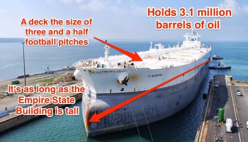 Traders Are Hoarding Oil In These Colossal Ships While They Wait For Prices To Bounce Back