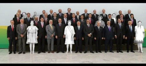 Brazil's New President Michel Temer Fills Cabinet With Only White Men