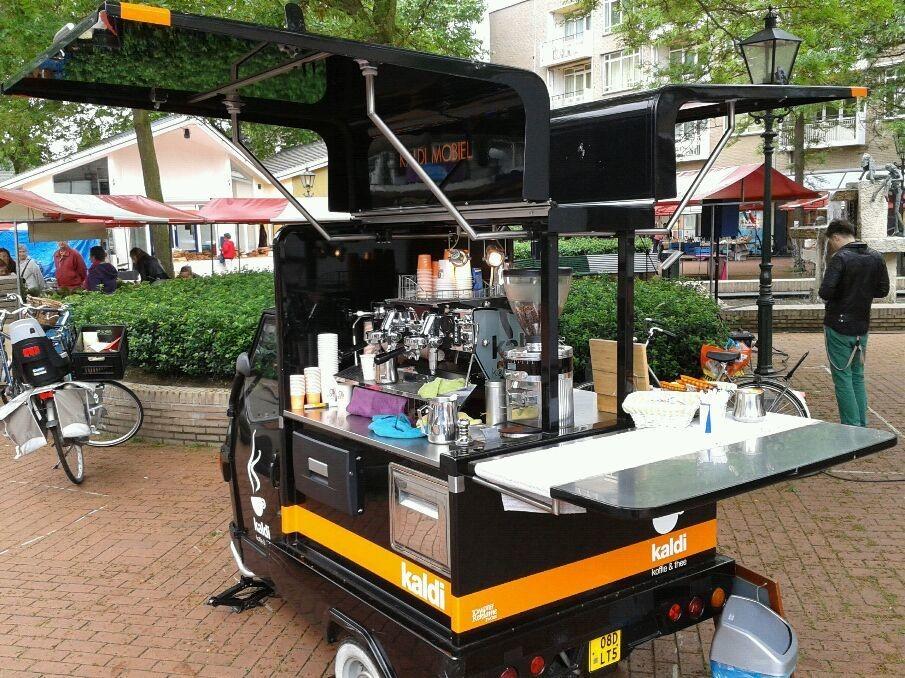 We zijn weer in Bussum vandaag met een lekker muziekje en topkoffie.
