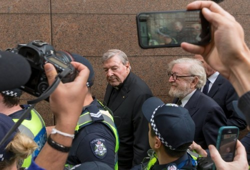 Vatican treasurer makes brief Australian court appearance over historical sex charges