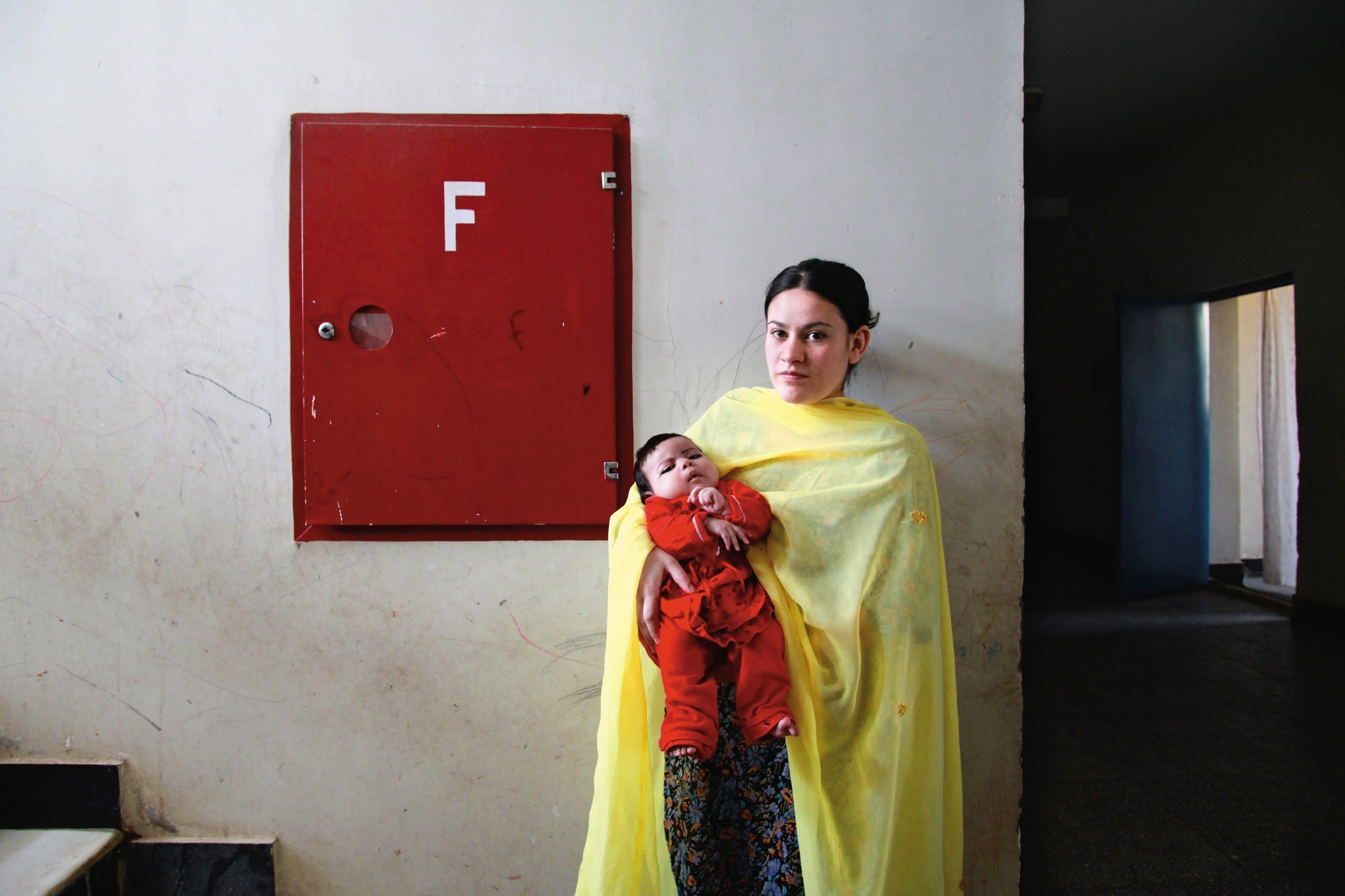 Mother And Child Behind Bars: The Women Of Afghanistan's Prisons