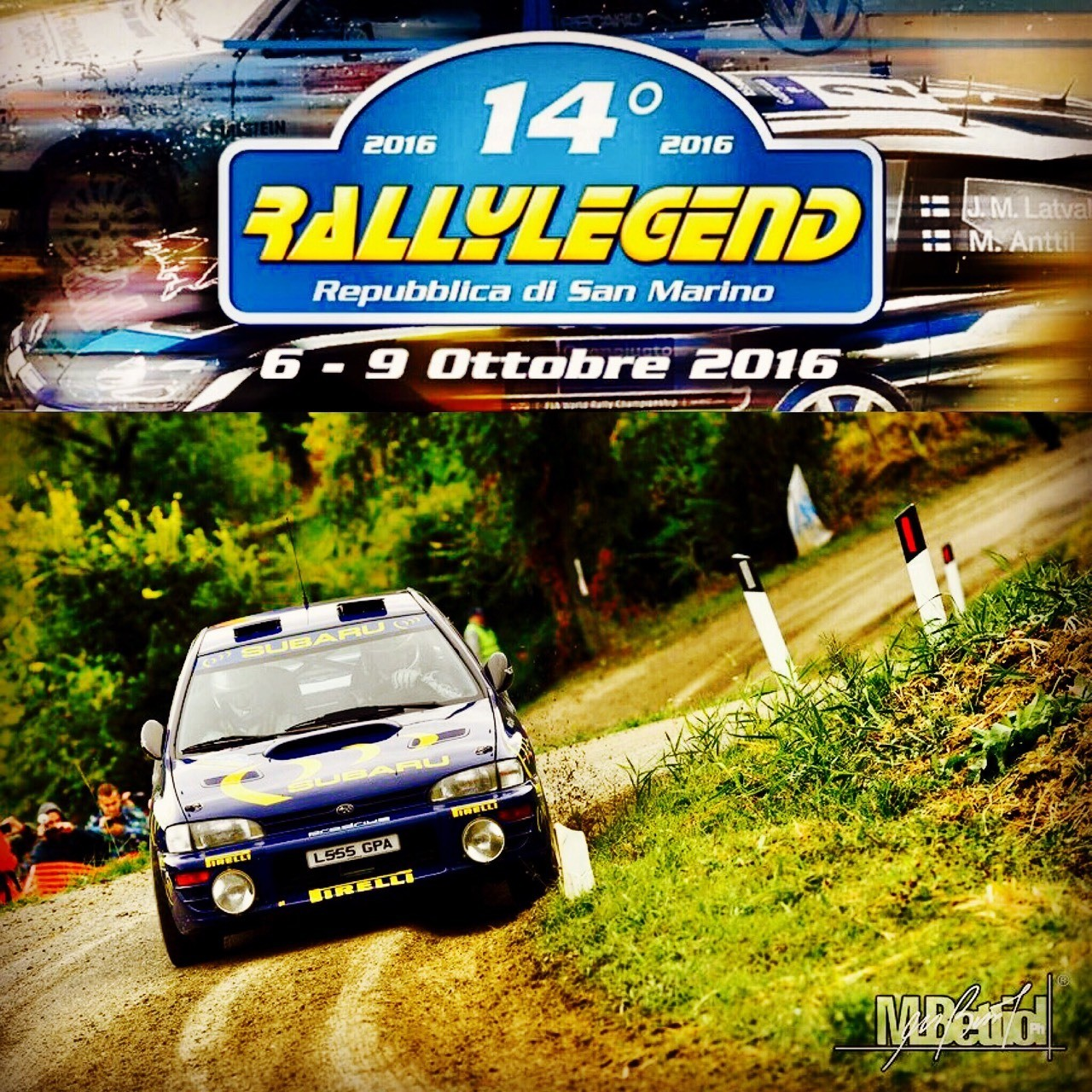 RALLYLEGEND seconda giornata di gara... Start ore 13:30 arrivo seconda tappa ore 19:00. #AndreaNavarra #BillyCasazza #subaruwrx #rallylegend