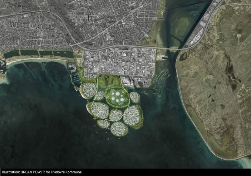 Denmark plans nine new islands to expand Copenhagen industrial district