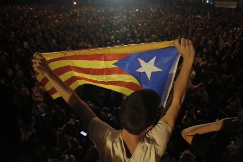 80 injured in third night of Catalonia protests; 33 arrested