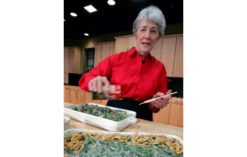 Woman who created green bean casserole dies at 92