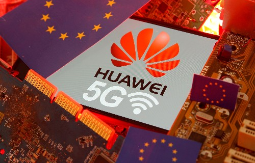 Merkel's conservatives stop short of Huawei 5G ban in Germany