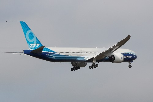 Boeing 777X jetliner successfully completes maiden flight