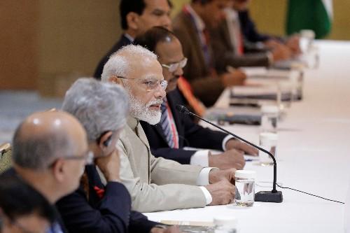 Modi says one-sided decisions drive development of global economy