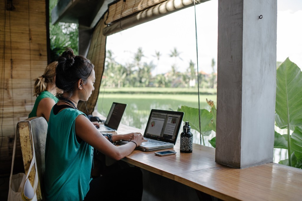 The world is your office: remote working on a roll