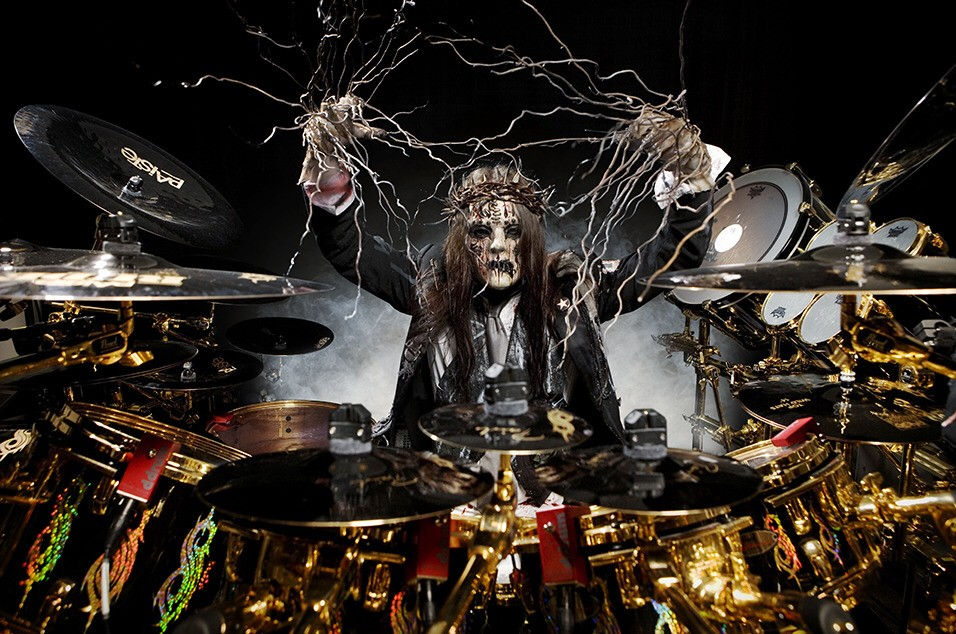 Joey Jordison. He inspired me in the way he played the drums. I look up to him in many ways and play like him.