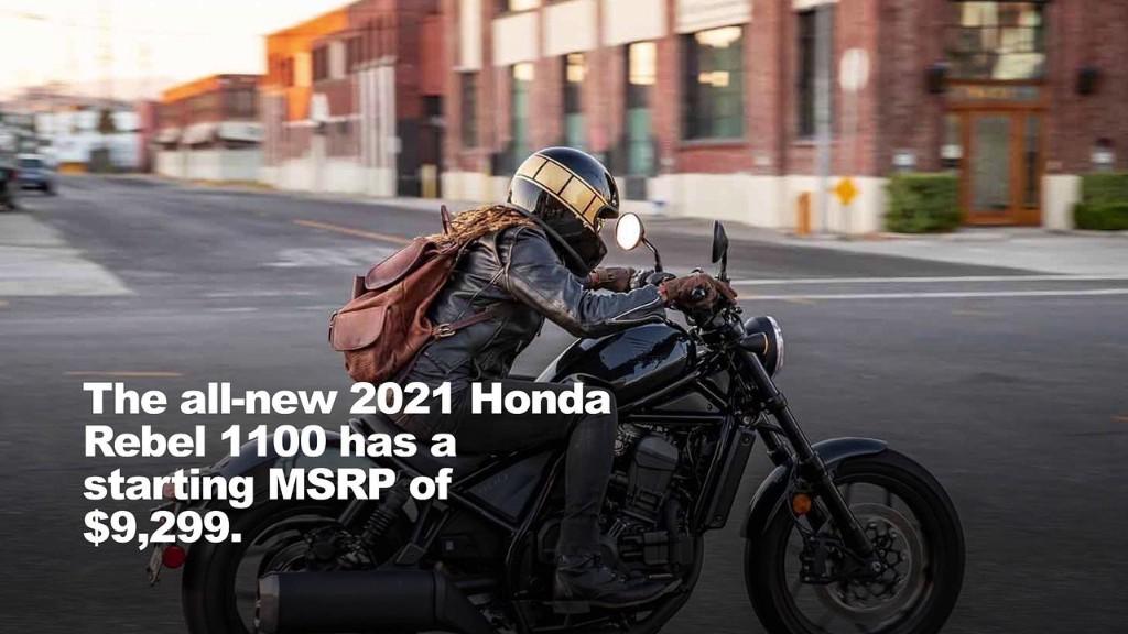 2021 Honda Rebel 1100 First Look