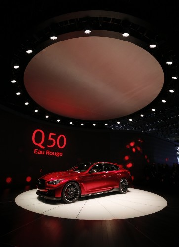 Detroit Auto Show 2014 in Pictures