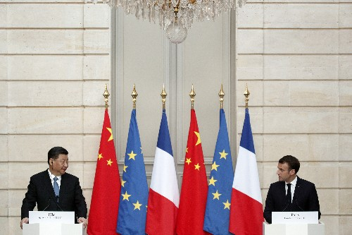 France, China sign 15 commercial deals, including with Airbus, EDF