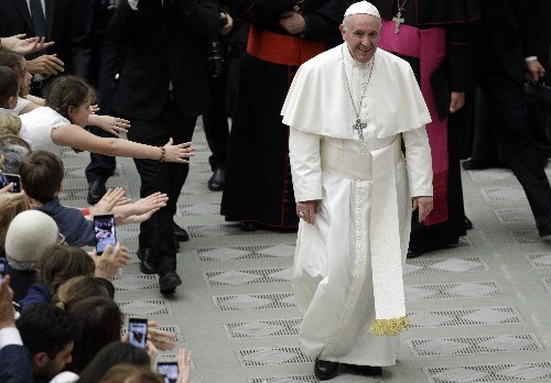 "Pope: Abortion is never OK, equates it to ""hiring a hitman"""
