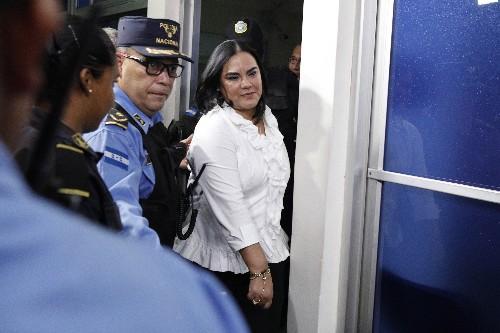 Ex-Honduras first lady gets 58 years in corruption case