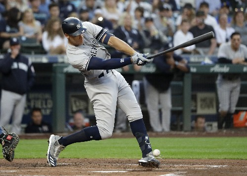 Yankees slugger Aaron Judge 3rd-fastest to hit 100 HRs