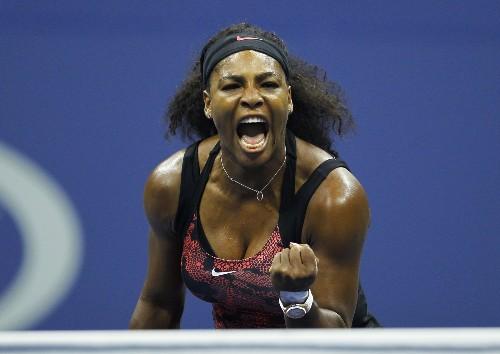 Serena Williams Advances at the US Open