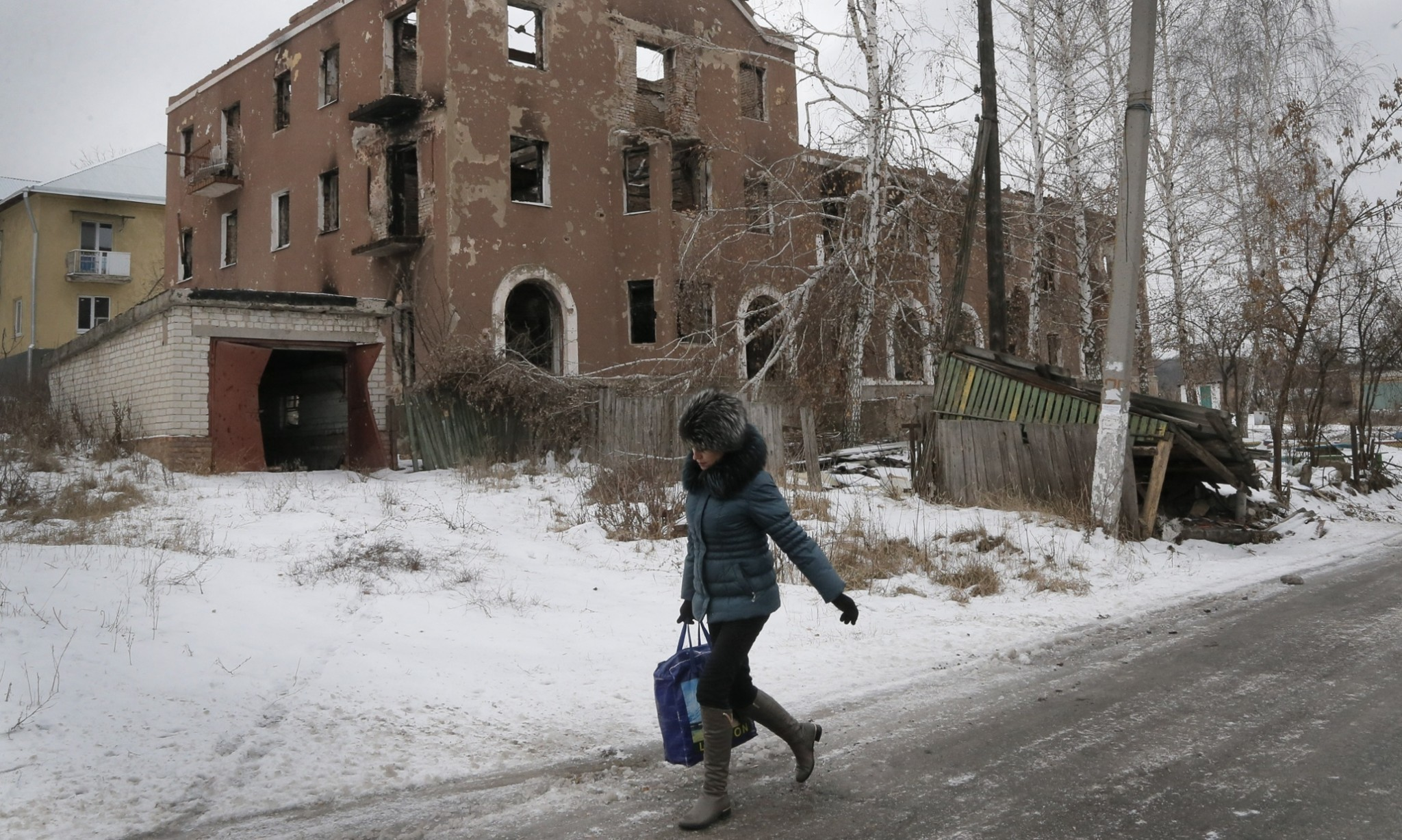 Life on the frontline of the Ukraine conflict