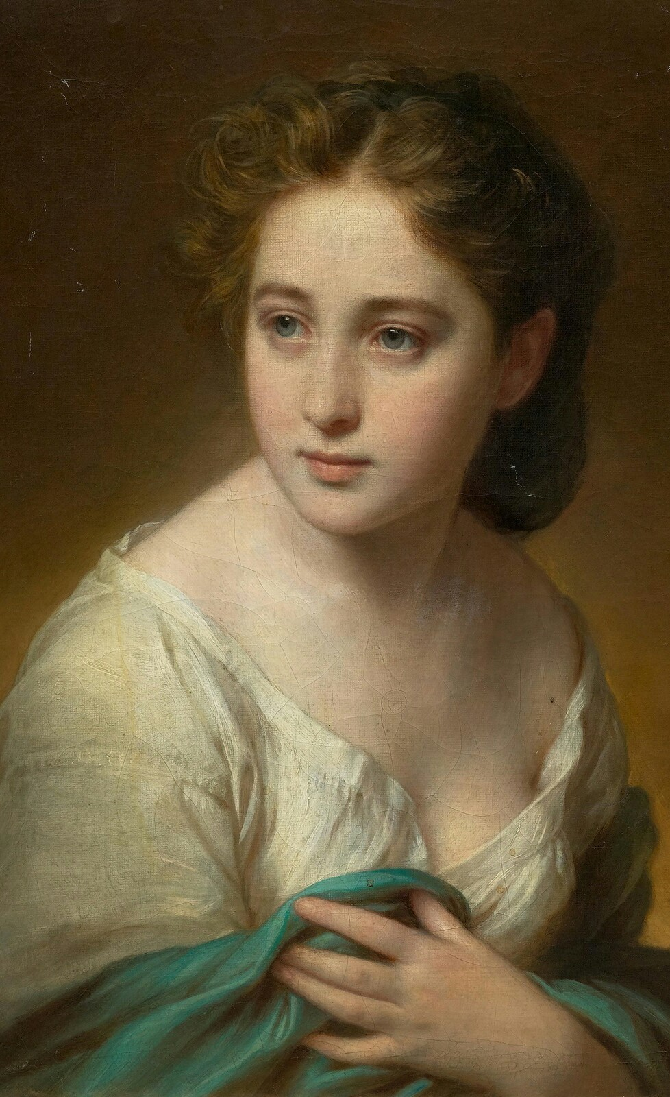 मैंने माँगी थी उजाले की फ़क़त इक किरन 'फ़राज़', तुम से ये किसने कहा आग लगा दी जाए.. ...अहमद फ़राज़ 'Life in the eyes of my love Bertina', 1836 Painting by Franz Xaver Winterhalter, German, 1805 - 1873 ______________________________ मैंने माँगी थी उजाले की फ़क़त इक किरन 'फ़राज़', तुम से ये किसने कहा आग लगा दी जाए.. ...अहमद फ़राज़ फ़क़त : only I have asked only one ray of light (love) , But who have asked to flare the total fire (passionate love) .