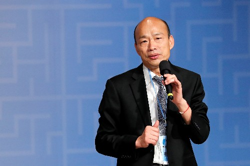 Taiwan opposition candidate calls for return to one China formula