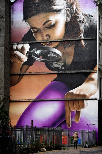 Glasgow Street Art: Pictures