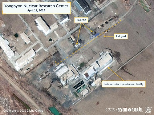 Satellite images may show reprocessing activity at North Korea nuclear site: U.S. researchers