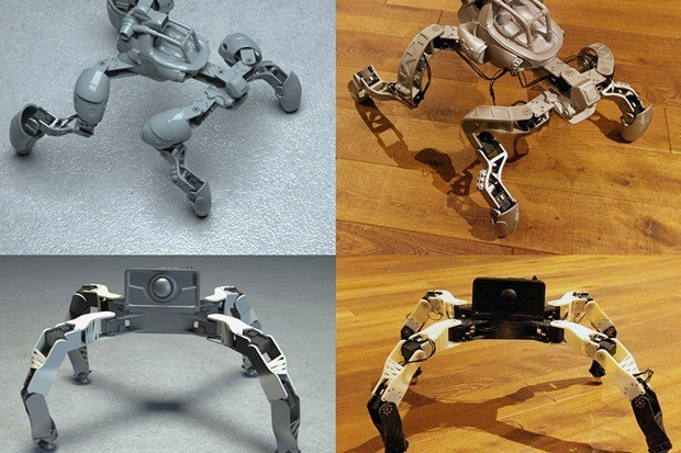 Disney Research helps novices 3D print robots from scratch