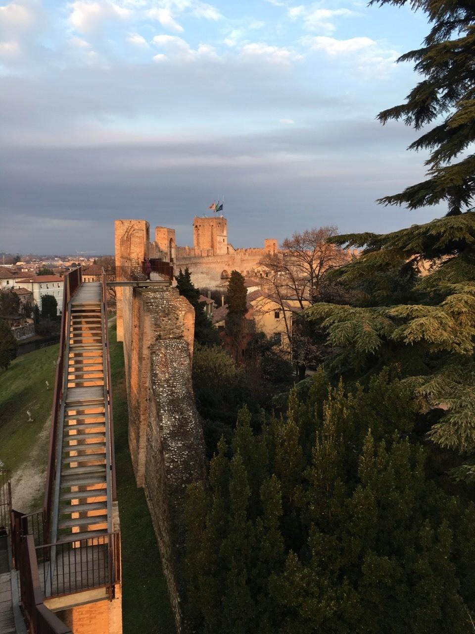 Tramonto sulle mura di Cittadella