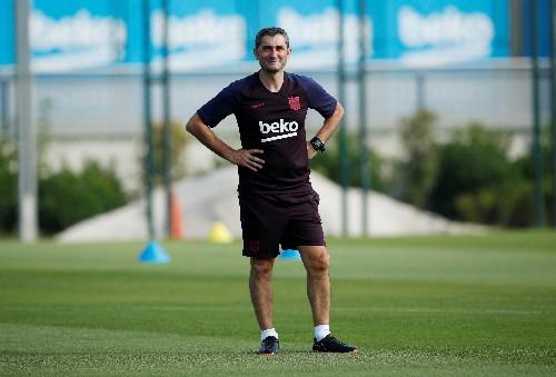 Valverde backs Griezmann to connect with Messi, Suarez