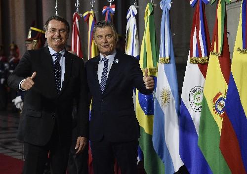 Brazil's Bolsonaro: Make South America Great Again