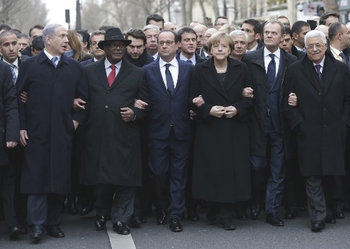 Massive March for Victims in Paris