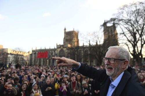 Labour's Jeremy Corbyn: Redistribute UK wealth, tax the rich