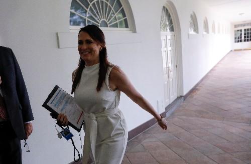 Longtime Trump aide Stephanie Grisham will succeed Sanders as press secretary