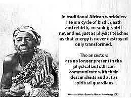 The ancestors speak