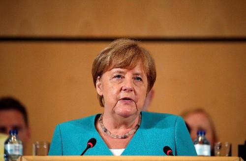 German SPD's record low in poll puts strain on Merkel's coalition