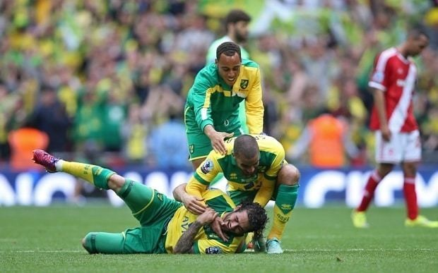 Middlesbrough 0 Norwich City 2: Cameron Jerome and Nathan Redmond fire Canaries to Premier League