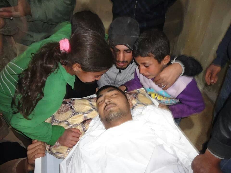 Why? Farewell of a Syrian father