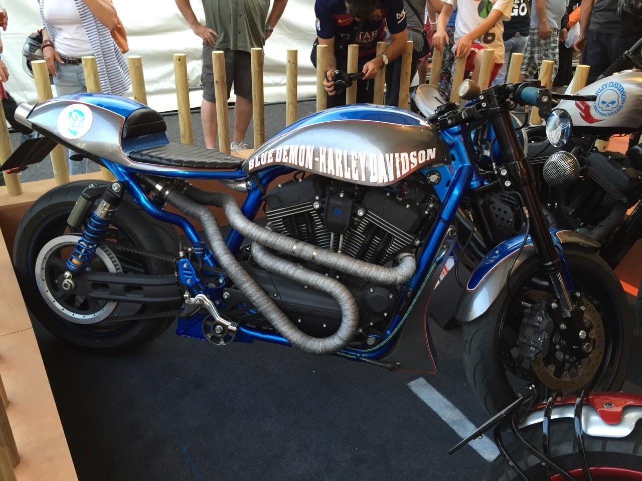 Harley in Barcelona
