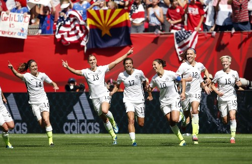 USA Routs Japan to Win World Cup