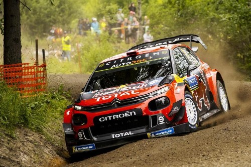 Sébastien Ogier et Citroën mènent la cadence