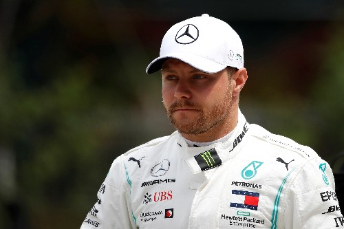 Mercedes' Bottas out for Baku revenge