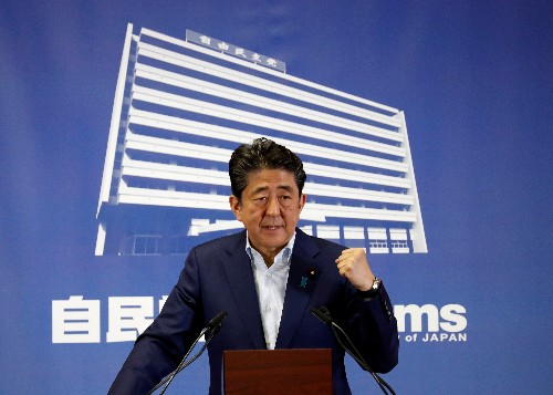 Pacifist constitution reform at stake as Japan goes to polls