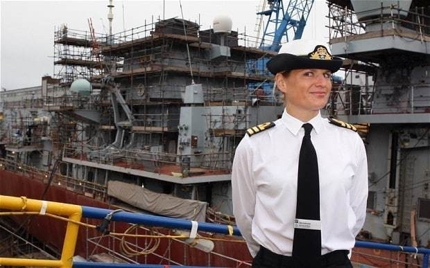First female warship captain stripped of command over affair allegations