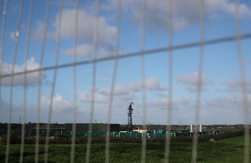 Britain's Cuadrilla says 'micro seismic event' occurred at fracking site near Blackpool